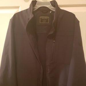 LG Calvin Klein jacket NWOT water resistant